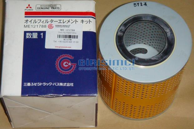 ME121788 ASAKASHI OIL FILTER 6D22 8DC9 2PC SET